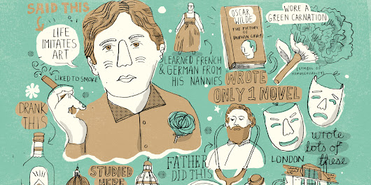 Gorgeous Illustrations Of Famous Writers' Lives
