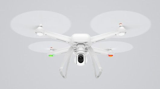 Xiaomi unveils the Mi Drone, costing $460 for 4K video or $380 for 1080p