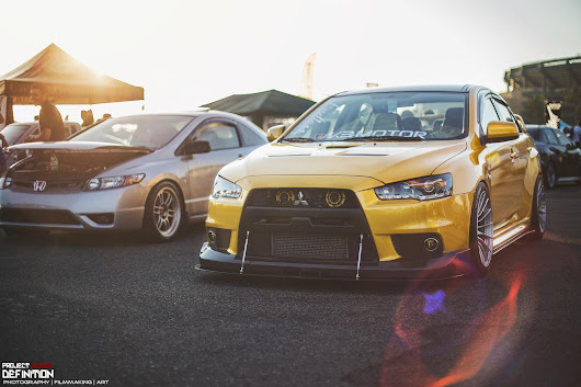 Something about yellow EVO's..