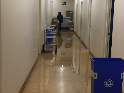 Sewage sloshes into SF prosecutors' offices
