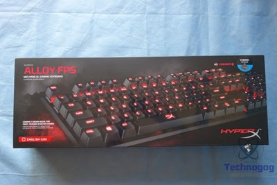 Review of HyperX Alloy FPS Mechanical Gaming Keyboard | Technogog