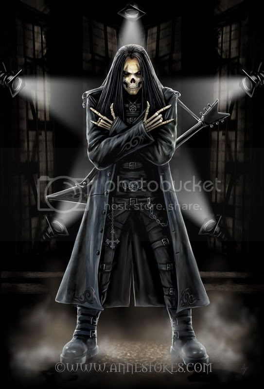 gótico,metal,rock,preto,esqueleto