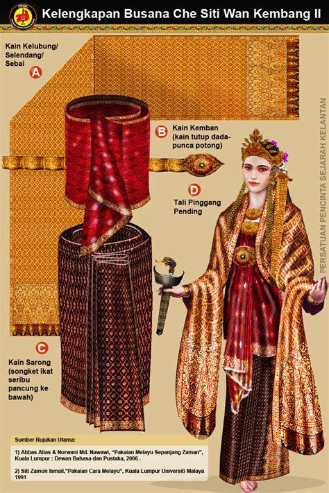asas pakaian tradisional kelantan   helai kain