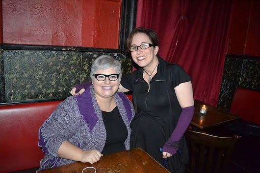 Photos from Jan 18th, with Holly Black & Fran Wilde