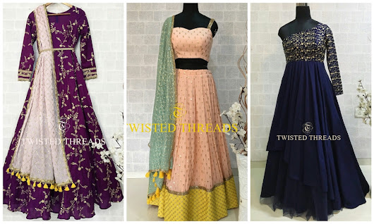 Budget Less Than 15k? Twisted Threads Has The Best Festive Lehengas - Frugal2Fab