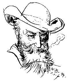 Selbstportrait Wilhelm Busch