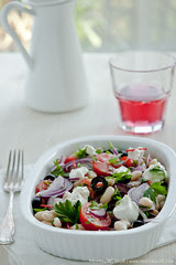 Cannellini Bean Salad with Olives and Ricotta by Meeta K. Wolff