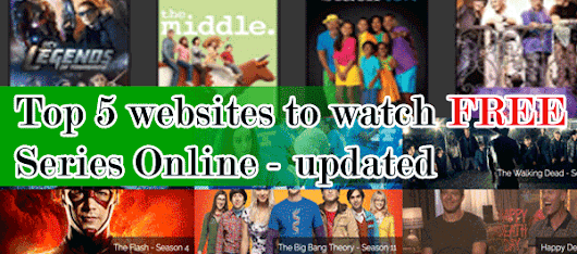 Top Five Websites to Watch FREE Series Online - updated - Cool Stuff Blog : Indie blogger