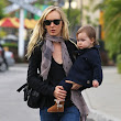 Kimberly Stewart Enjoys A Day Out With Delilah | Celeb Baby Laundry