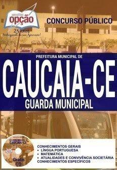 Apostila Prefeitura de Caucaia GUARDA MUNICIPAL