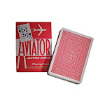 Aviator Poker Jumbo Index Playing Cards # 914 - Pack Of 3