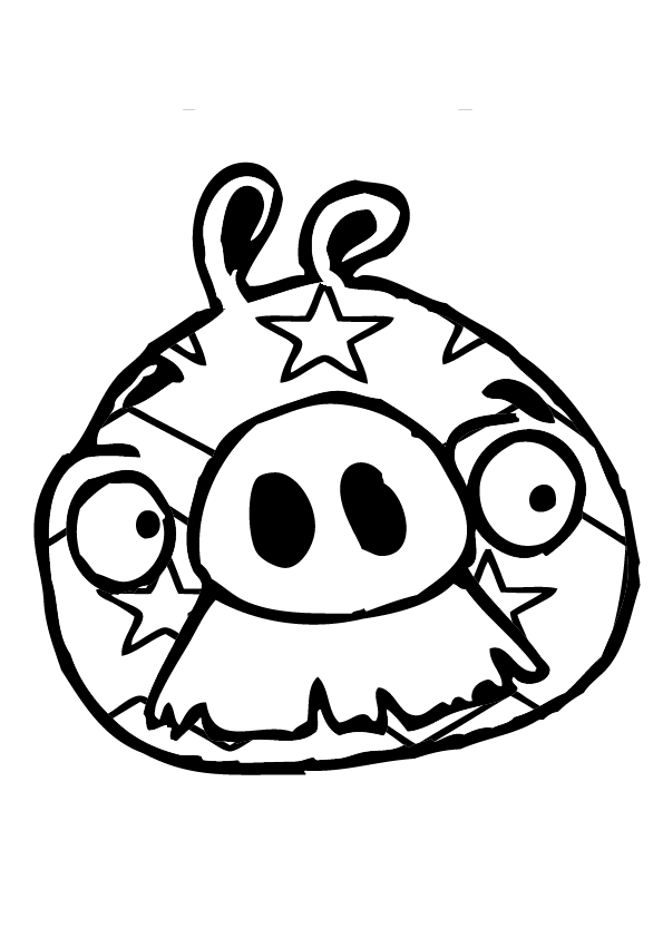 Dibujos Para Colorear De Bad Piggies Juegos De Angry Birds