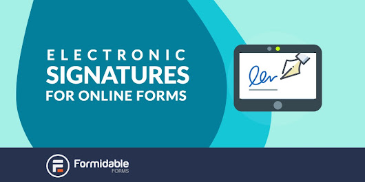 How to collect electronic signatures in online forms - Formidable Forms