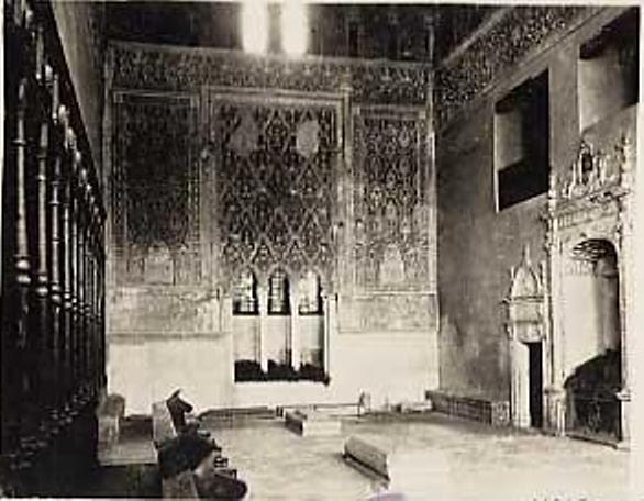 Sinagoga del Tránsito hacia 1915.Fotografía de Edward Manuel Newman. The Hispanic Society of America