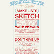 29 Ways to Stay Creative by =edhall on deviantART