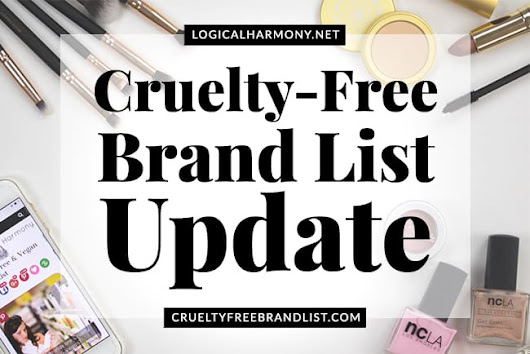 Cruelty-Free Brand List Update - Logical Harmony