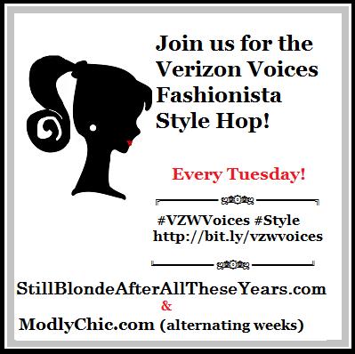 Verizon Voices Fashionista Style Hop button