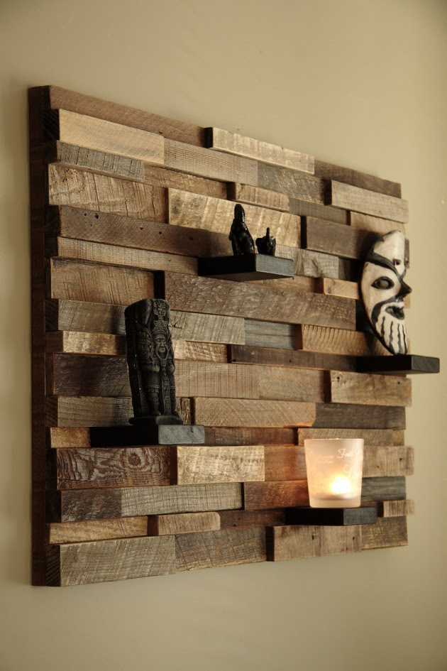 16 Magnificent Examples of Reclaimed Wood Wall Art ...