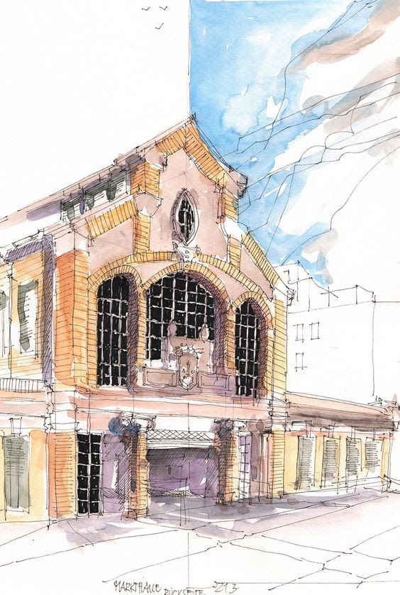 architectural water colors 18
