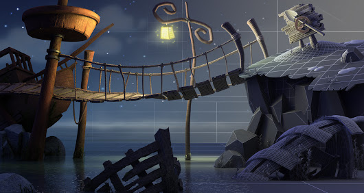 Create a night scene with 3D Studio Max & VRay that will make you feel nostalgic about Monkey Island - Tutorials