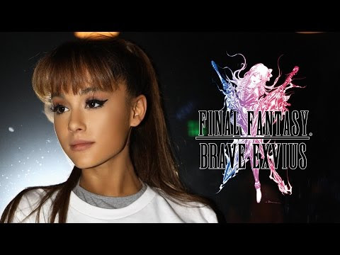 "GO BEHIND THE SCENES OF ARIANA GRANDE'S ""TOUCH IT"" REMIX FOR FINAL FANTASY BRAVE EXVIUS 