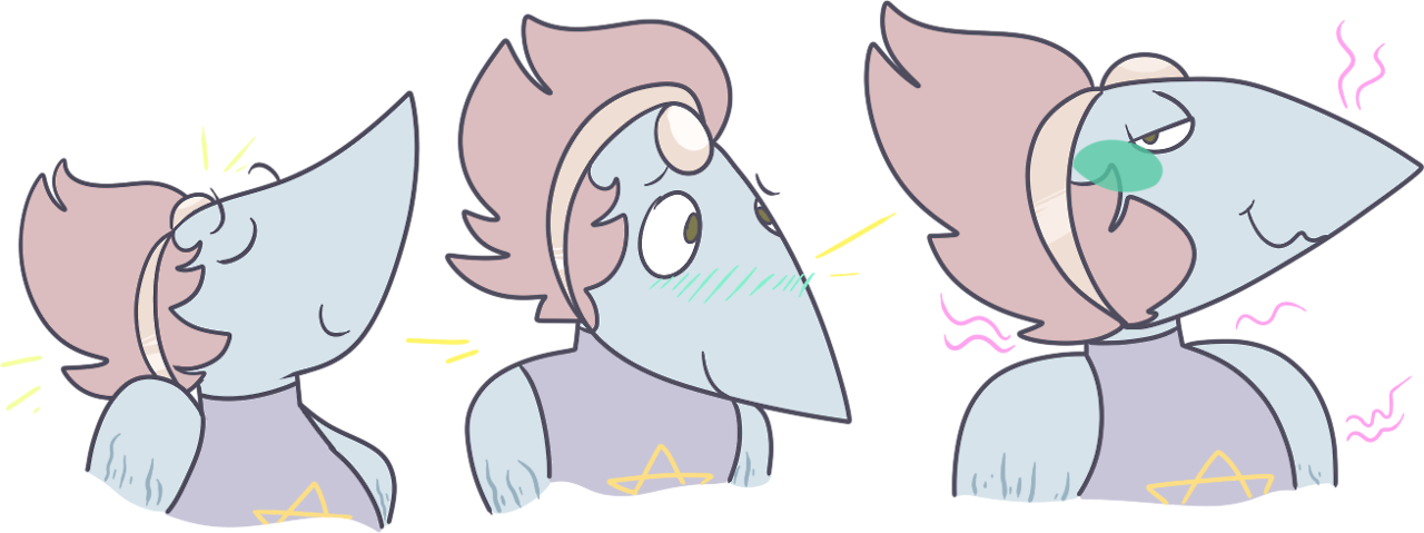 alot of ppl liked my pearl redesign so i drew her some more (hey if you send me pearl screencaps you like or hate and wanna see redone, feel free to submit!)