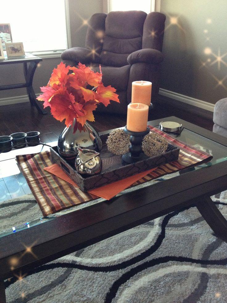43 Fall Coffee Table Décor Ideas | DigsDigs
