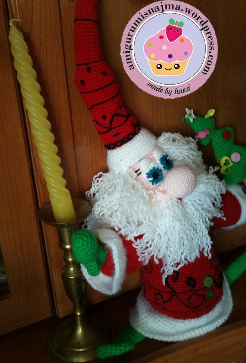 santa claus crochet doll ganchillo najma-19