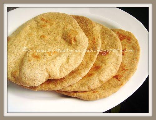 Khobz -Arabic Flatbread