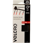 VELCRO Brand Industrial Strength 4ft x 2in Roll, Black