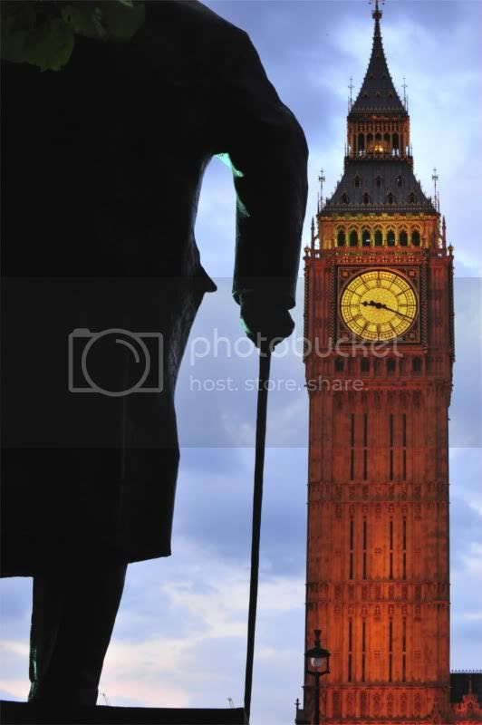 Big Ben and Churchill
