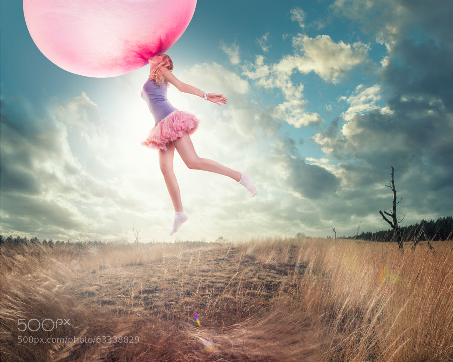 Photograph Chewing Gum Bubble by Sjoerd Stellingwerf on 500px