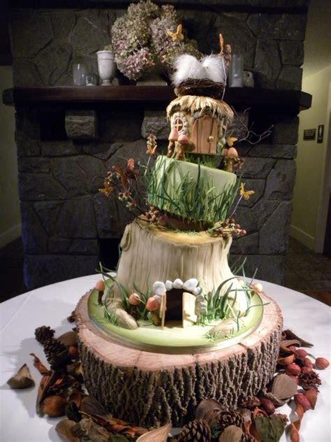 Gâteau de mariage Hobbit