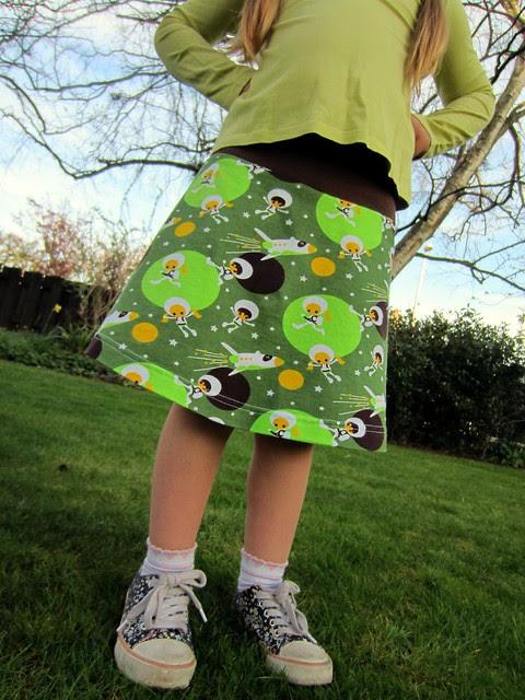 astronaut tennis skirt