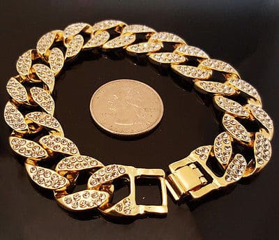 14k Iced Out Chain and Bracelet - A Thorough Review