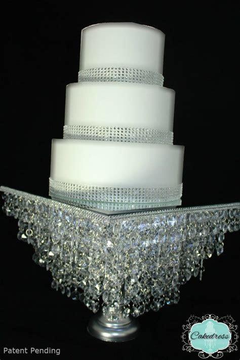Crystal wedding cake stand   idea in 2017   Bella wedding