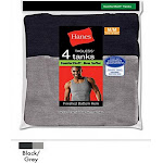 Hanes Men's FreshIQ ComfortSoft Dyed Tank Undershirt, Assorted