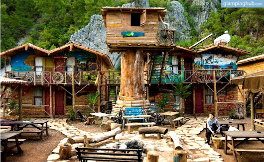 Glamping in Turkey | Tree houses in Olympos with Walking, Kayaking