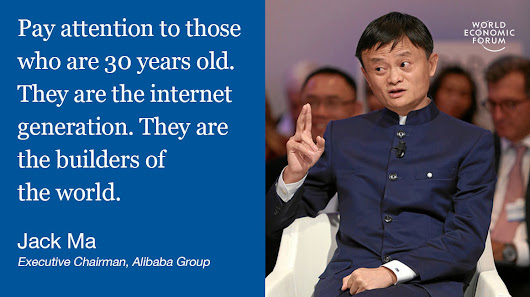To make the world a better place, we should focus on these 3 things, says Jack Ma