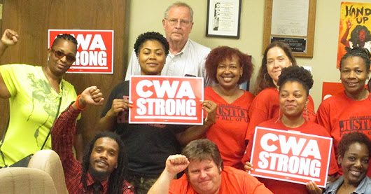 Local 6355 is CWA STRONG