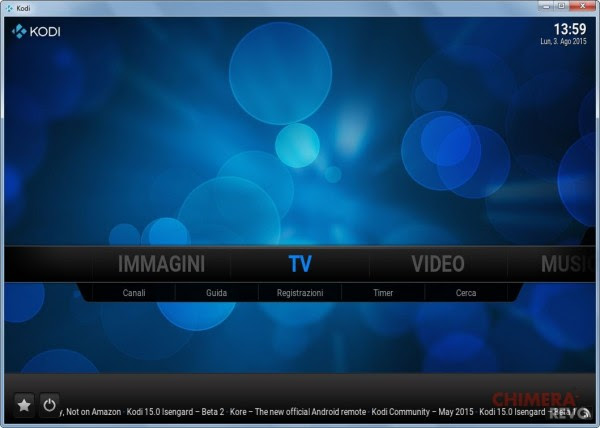 Home Kodi TV