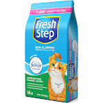Fresh Step Clay Cat Litter with Odor Eliminating Carbon - 14 lb bag