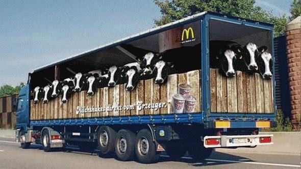 truck ad designs 05 in Funny 3D Truck Ad Designs