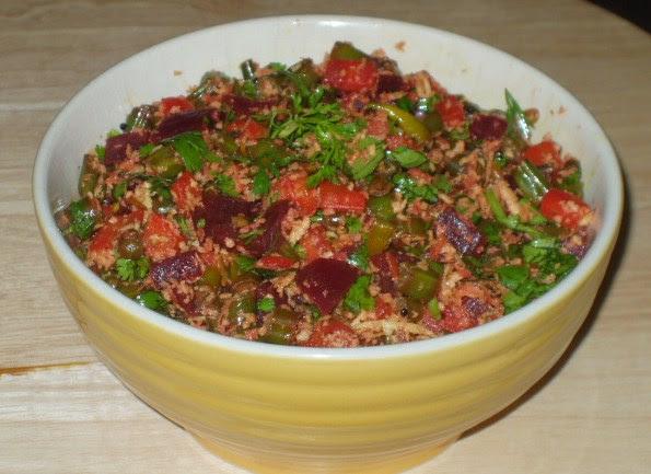 Food Network Green Beans Mushrrom Pecan