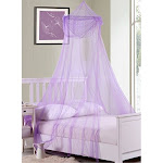 Fantasy Kids Raisinette Collapsible Hoop Sheer Bed Canopy One Size P