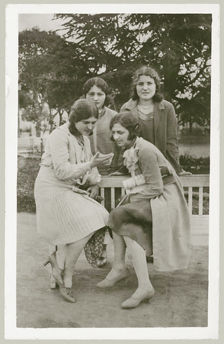 Four young women