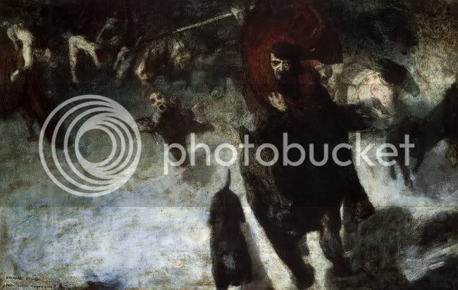 Franz von Stuck - Caza salvaje