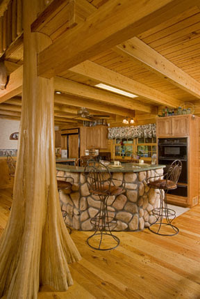 Cabin Interior Design Blends Form and Function