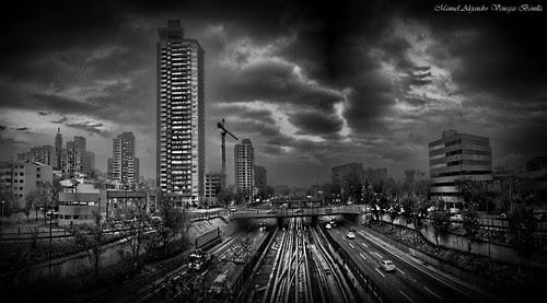 Santiago de Chile by Alejandro Bonilla