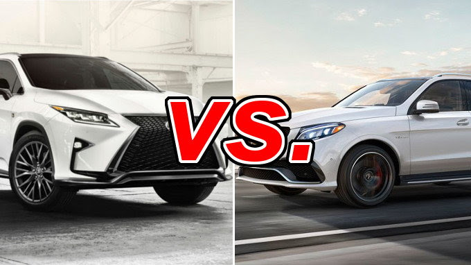 Lexus RX 350 vs. Mercedes-Benz GLE350 - CarsDirect